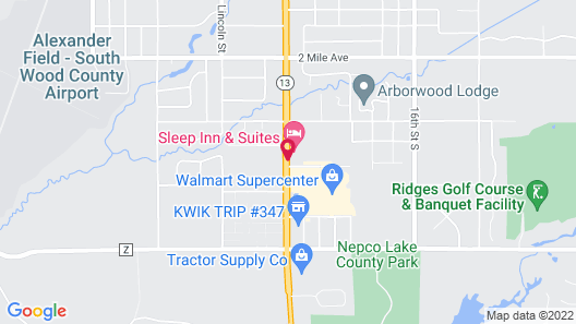 Sleep Inn And Suites Map