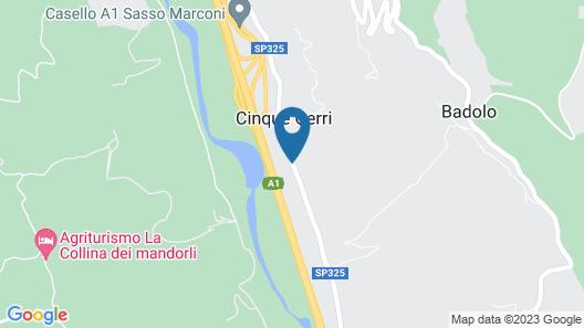 Locanda dei Cinque Cerri Map