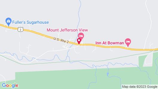 Mount Jefferson View Map