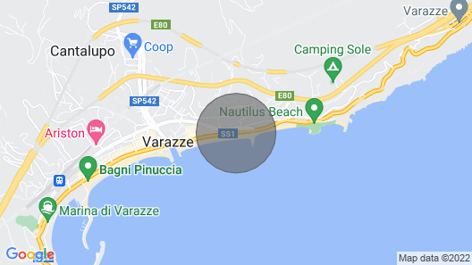 Studio 10 Meters From the sea Map