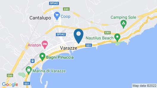 Hotel Astigiana Map