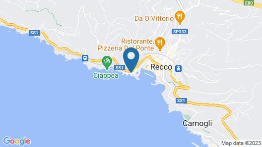 Villino Miramare Map