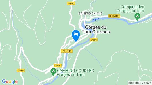 Gite Martin-Pecheur Map