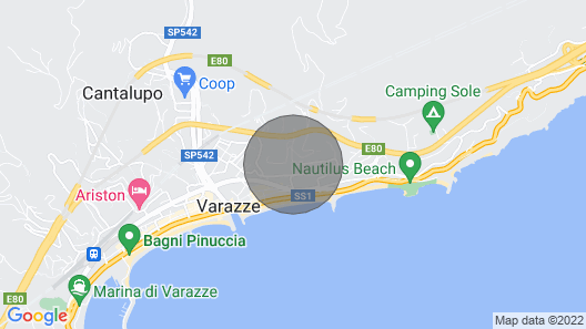 Detached House 200 Meters From the sea Map
