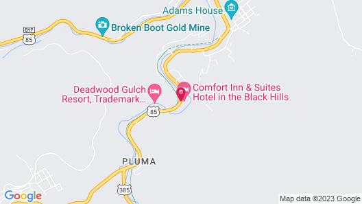 Super 8 by Wyndham Deadwood / Black Hills Area Map