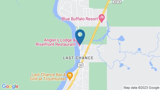 Anglers Lodge Map