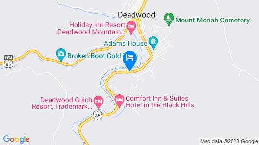 Cedar Wood Inn Map