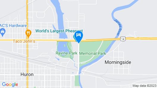 Dakota Inn Map