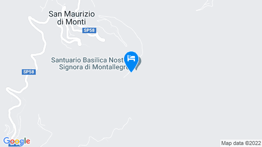 Hotel Ristorante Montallegro Map