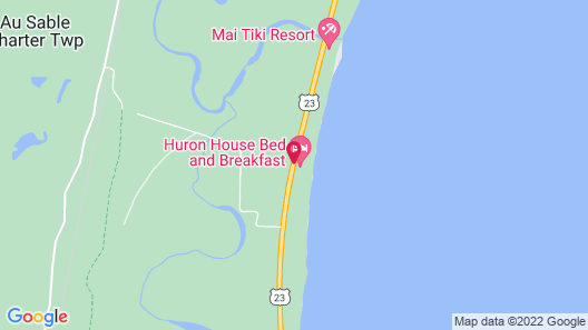 Huron House Bed and Breakfast Map