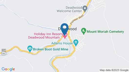 Holiday Inn Resort Deadwood Mountain Grand, an IHG Hotel Map