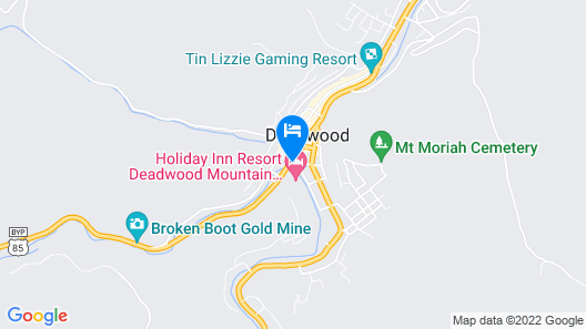 Holiday Inn Resort Deadwood Mountain Grand Map