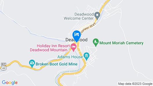 Iron Horse Inn & Suites Map