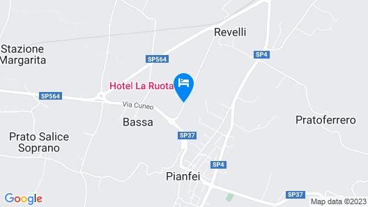 Hotel La Ruota Map