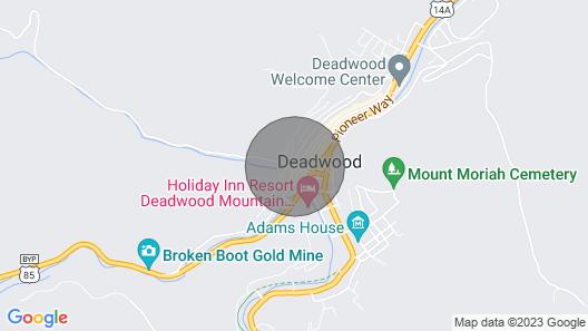 Deadwood Diggs on Shine Street Map