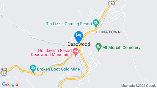 Holiday Inn Express Hotel & Suites Deadwood-Gold Dust Casino Map