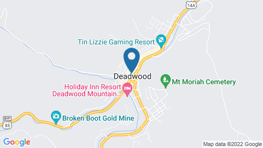 Holiday Inn Express Hotel & Suites Deadwood-Gold Dust Casino, an IHG Hotel Map