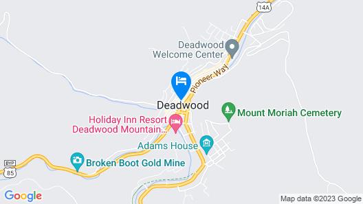 Holiday Inn Express Hotel & Suites Deadwood-Gold Dust Casino, an IHG Hotel Map