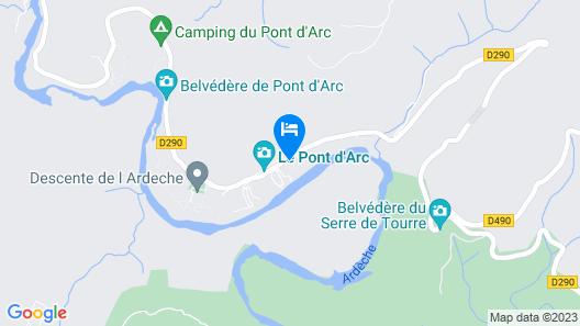Vacancéole - Le Domaine de Chames Map