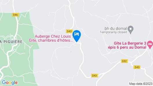 Chez Louis - Chambres d'Hôtes Map
