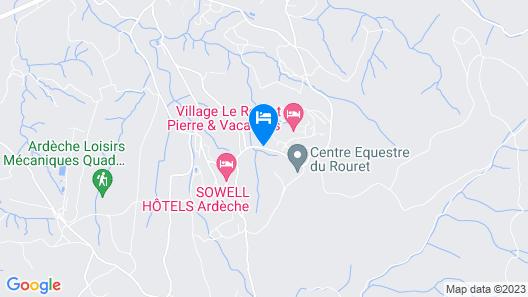 Village Pierre & Vacances - Le Rouret Map