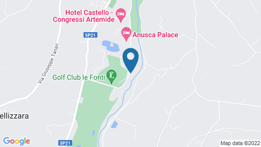 La Torretta Map