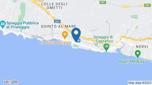 Genova Quinto SeaLife Apartment Map