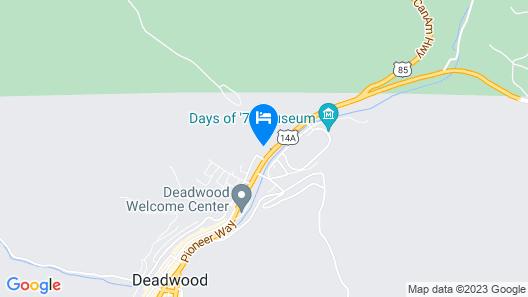 Tru by Hilton Deadwood, SD Map