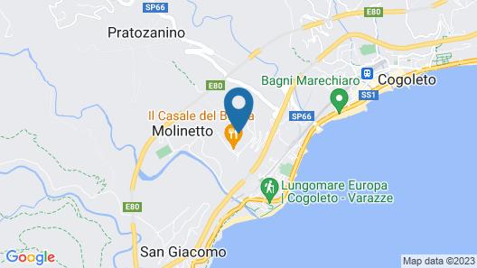 Residence Villa Beuca Map