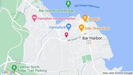 Bar Harbor Manor Map