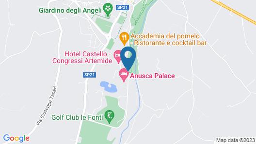 Park Hotel Map