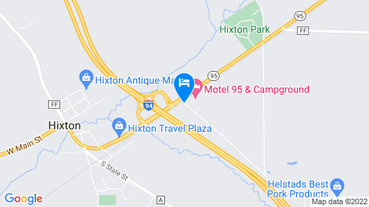 Motel 95 and Campground Map