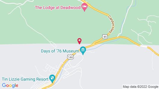Travelodge Inn & Suites by Wyndham Deadwood Map