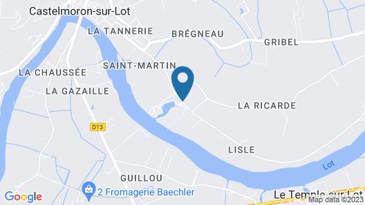 Lagrange Vacances Port Lalande Map
