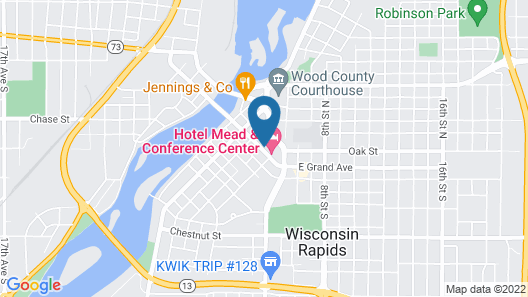 Hotel Mead Map