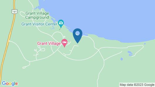 Grant Village - Inside the Park Map