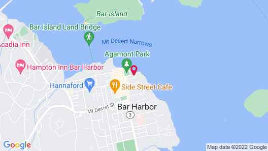 Bar Harbor Inn Map