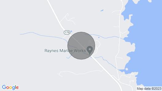 Cozy Cabin on Blue Hill Farm Map