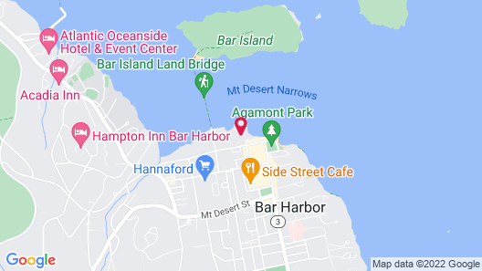 Harborside Hotel Marina And Spa Map