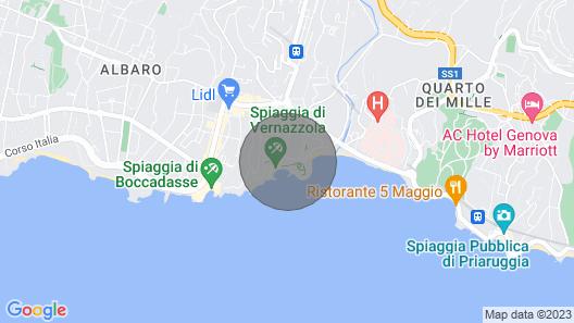 AAUT Vernazzola, Italian Riviera (010025-LT-0901) Map