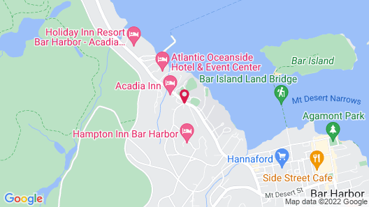 Highbrook Motel Map