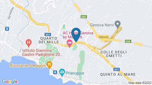 AC Hotel Genova by Marriott Map