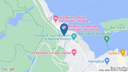 Bar Harbor Motel Map