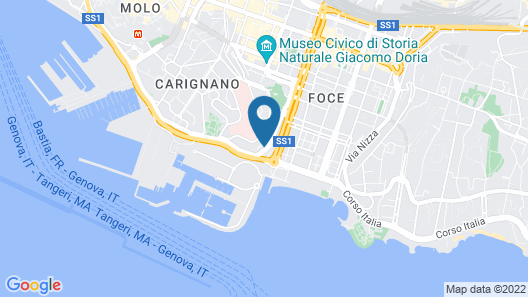 Home Grifondoro Bed & Breakfast Map