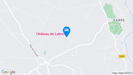 Château de Labro Map