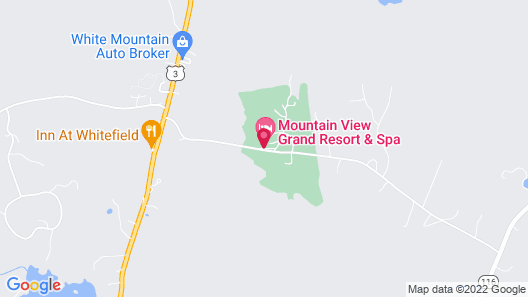 Mountain View Grand Resort & Spa Map