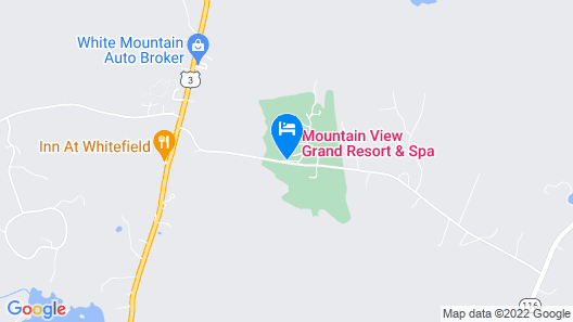 Mountain View Grand Resort & Spa Map