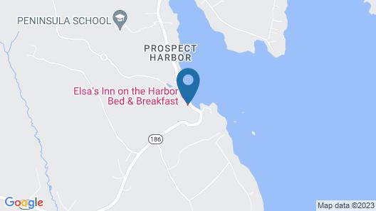 Elsa's Inn on the Harbor Map