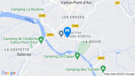 Hotel Le Clos des Bruyeres Map