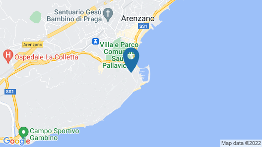 Hotel Punta San Martino Map